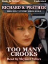 Too Many Crooks (MP3): Shell Scott Mystery Series, Book 8